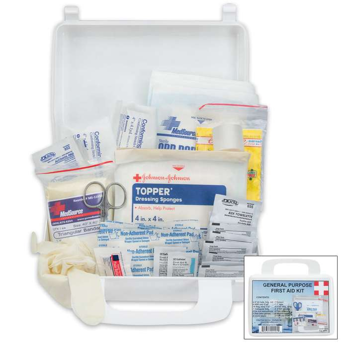 Elite General Purpose White First Aid Kit