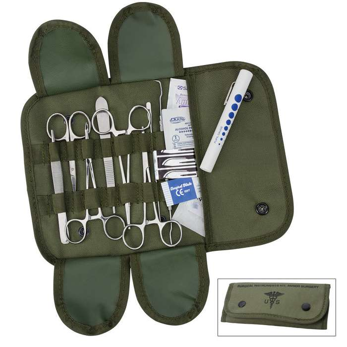 Elite Stainless Steel Surgical Set