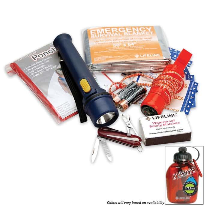 Lifeline Survival Canteen Kit