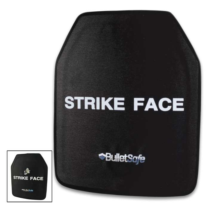 The BulletSafe Ceramic Ballistic Plate provides the lightweight protection of a ceramic plate for the price of a heavy steel plate