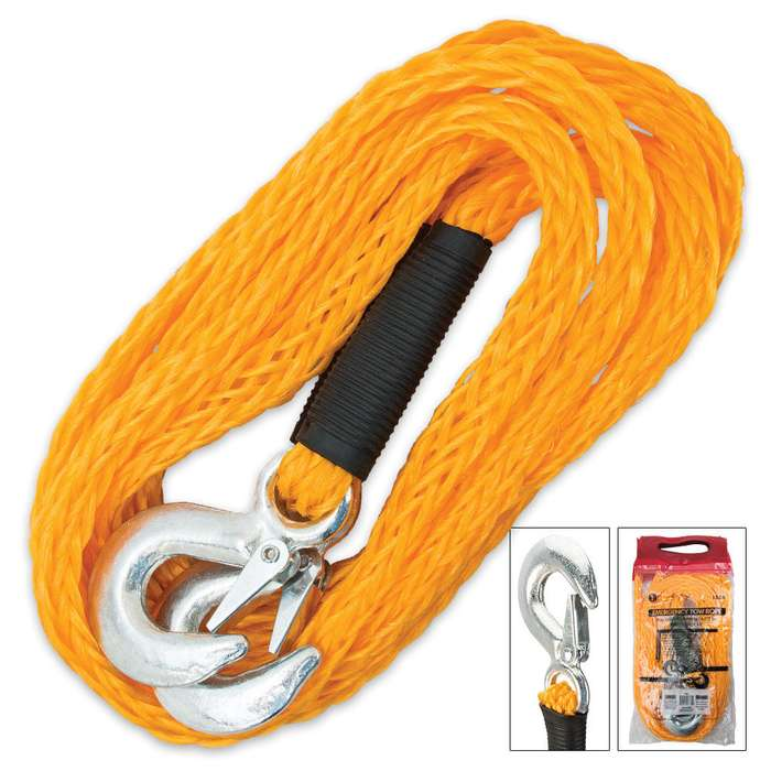 Emergency Nylon Tow Rope 13 1/2 FT
