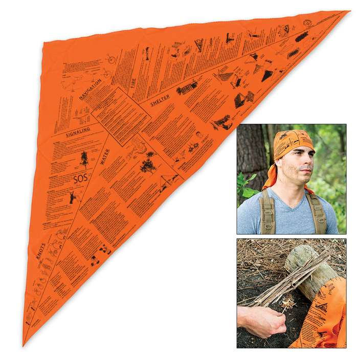 Every Emergency Triangle Survival Bandana