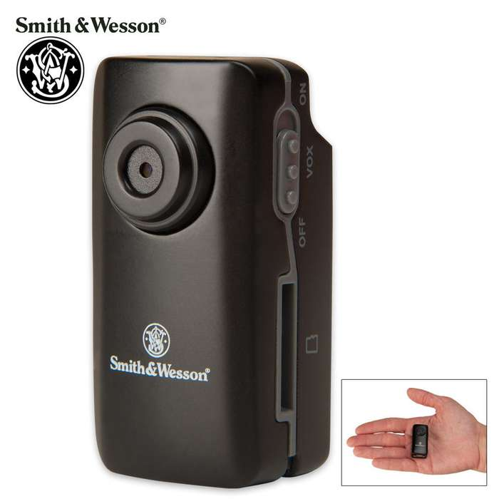 Smith & Wesson Law Camera Micro with 4GB Card