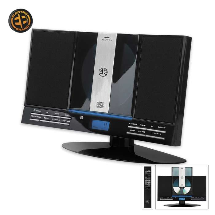 Desktop Or Wall-Mount Home Stereo System