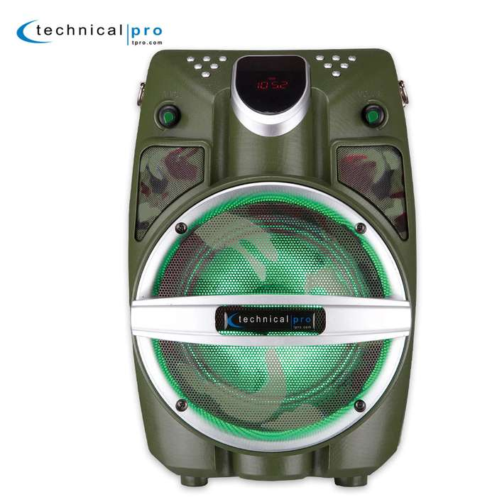 6.5 Inch Rechargeable Battery Powered Bluetooth System