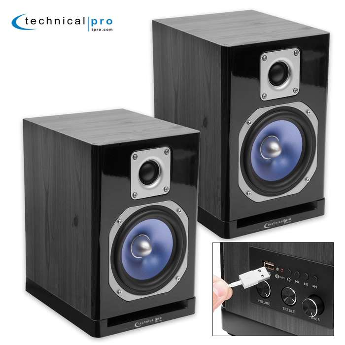 Bluetooth Studio Wireless Monitor Speakers