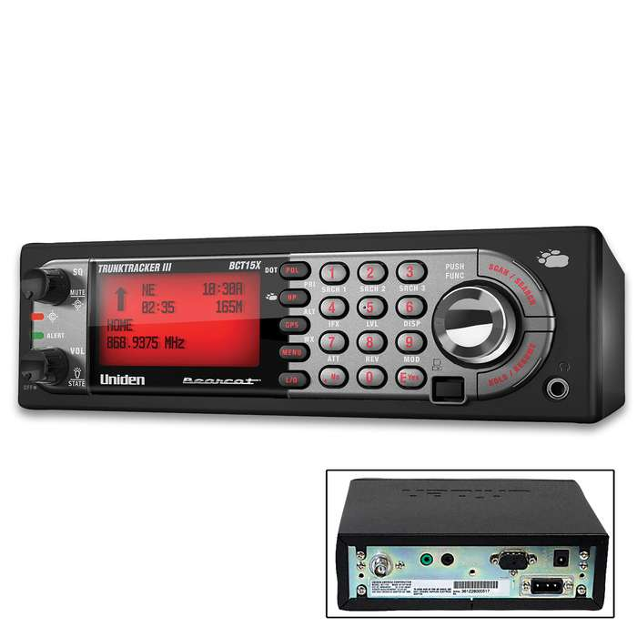Bearcat Tracker Digital Scanner - 9,000 Channels, Weather Alert, Service Search, Channel Number Tagging, PC Programming