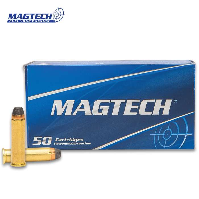 Magtech ammunition offers professional quality at an economy price and this is a box of 50 rounds of 357 Magnum SJSP