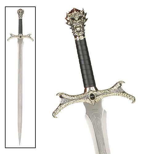 Fantasy Black Jewel Sword