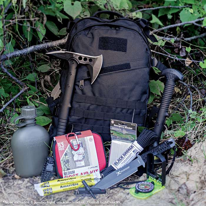 Off The Grid Bug Out Bag With Supplies