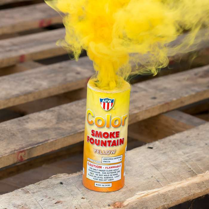 Smoke Bomb Fountain 12 Pack Assorted Colors