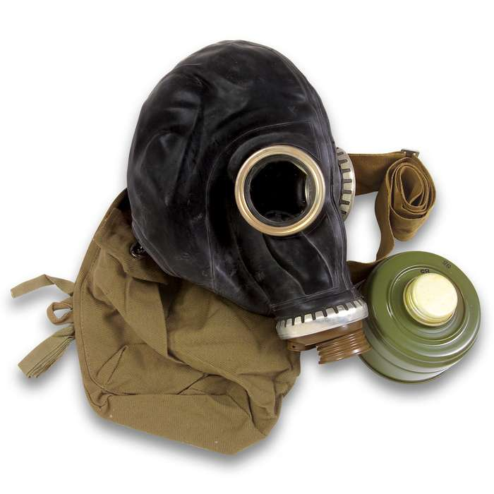 Russian Military Surplus Gas Mask SCHM-41M With Hose