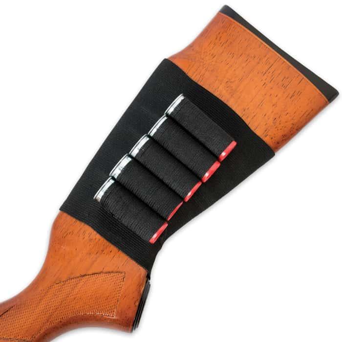 Butt Stock Shell Holder Shotgun