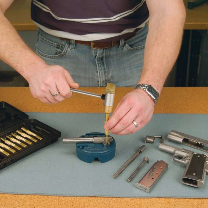 Gunsmithing Hammer With Four Tips
