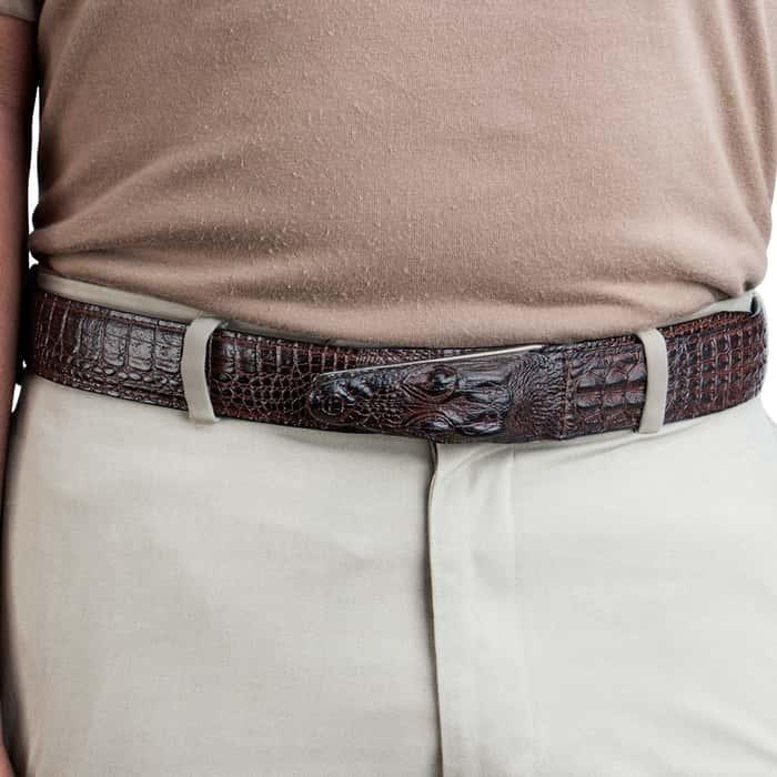 Gotcha Crocodile Belt - Brown