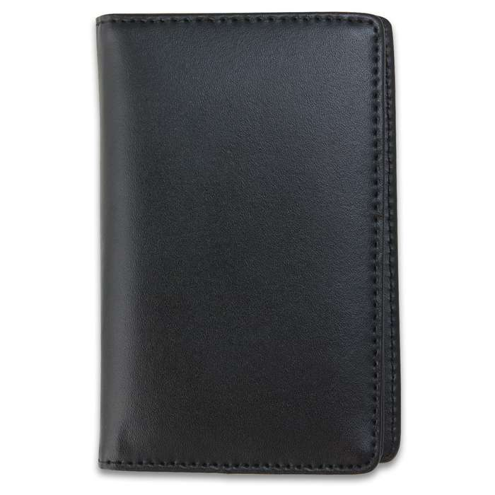 Concealed Weapon Permit Badge with Leather Case