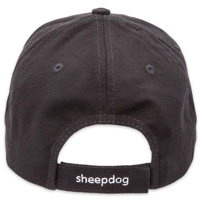 Double Down Always Alert Sheepdog Cotton Twill Cap