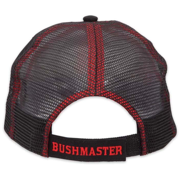 Bushmaster Cobra Cap - Woven Straw on Black Mesh