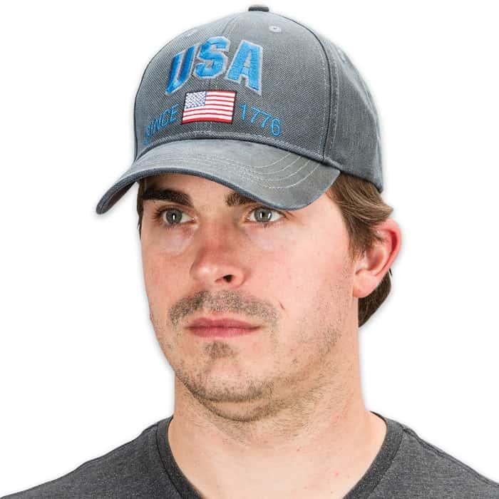 Blue Jean USA Oilskin Cap - Hat