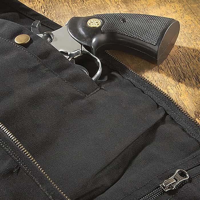 Blue Stone Black Concealment Vest