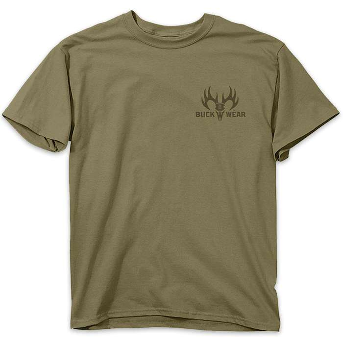 Buckwear Turn In Your Guns Olive Drab T-Shirt