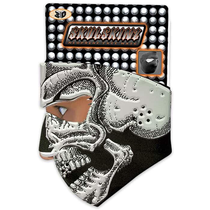 3D Skull Neoprene Face Mask