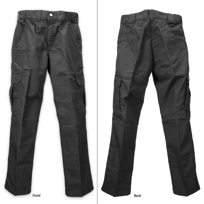 Dickies Straight Leg / Relaxed Fit Tactical Pants - Black