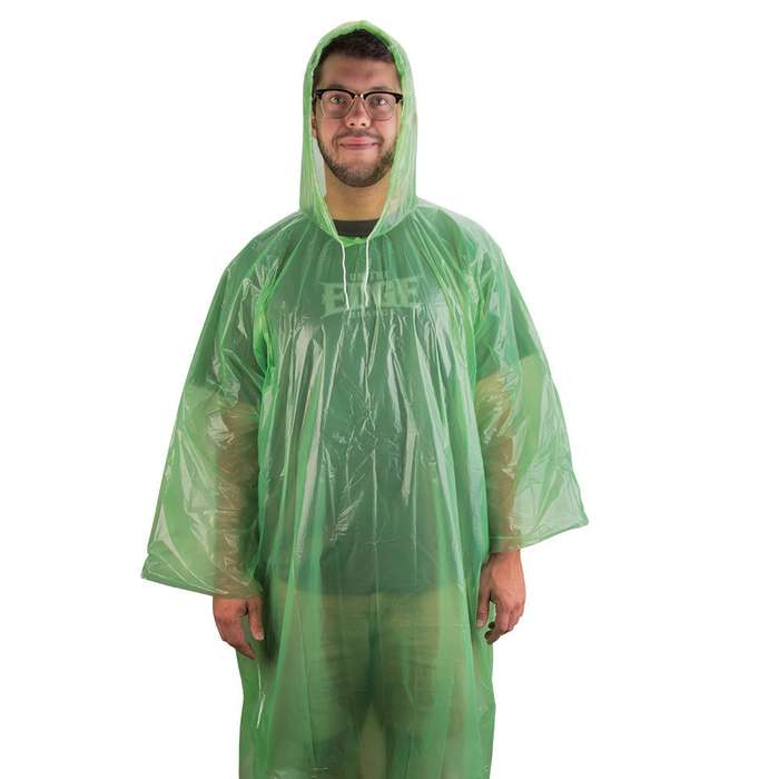 Lime Green Emergency Survival Poncho 61 x 65