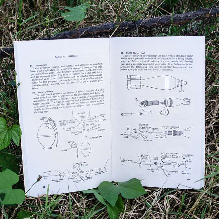 Army Field Manual - Booby Traps