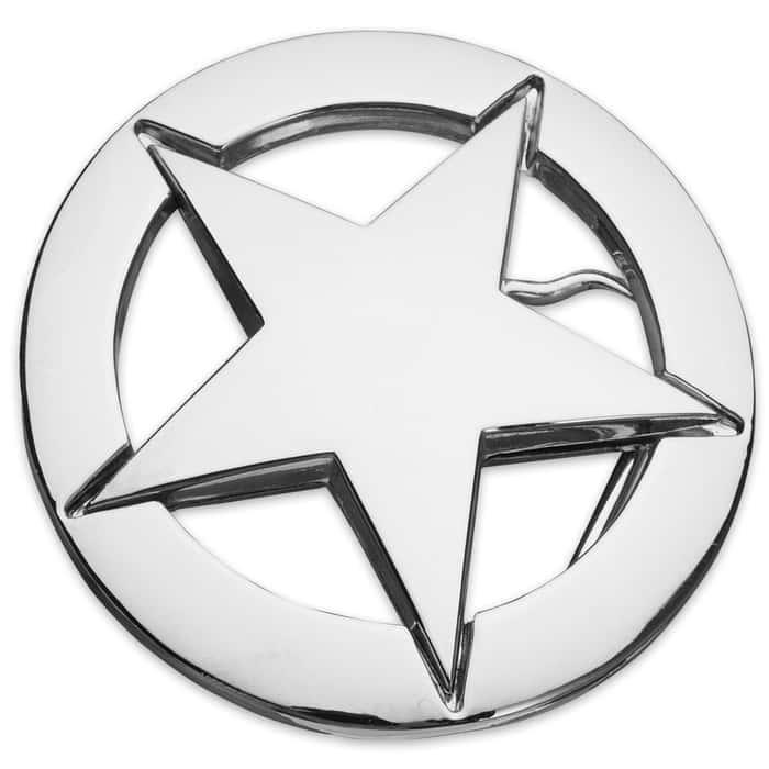 Texas Star Belt Buckle
