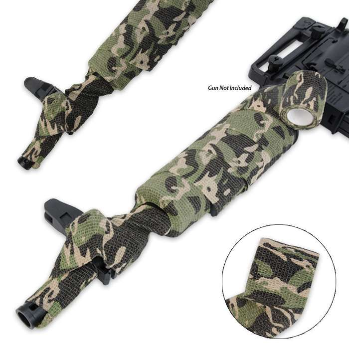 Black Legion Covert Gun Wrap Woodland