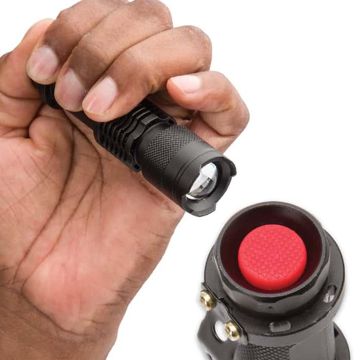Trailblazer Clip Zoom LED Flashlight / Torch