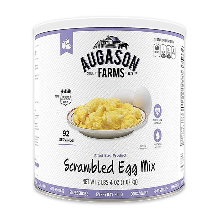 Augason Farms Egg Mix - Institutional Size Can