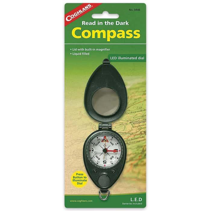 Coghlan's Read In The Dark Compass
