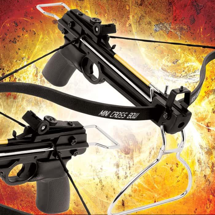 80-lb Avalanche Mini Crossbow Tactical Pistol