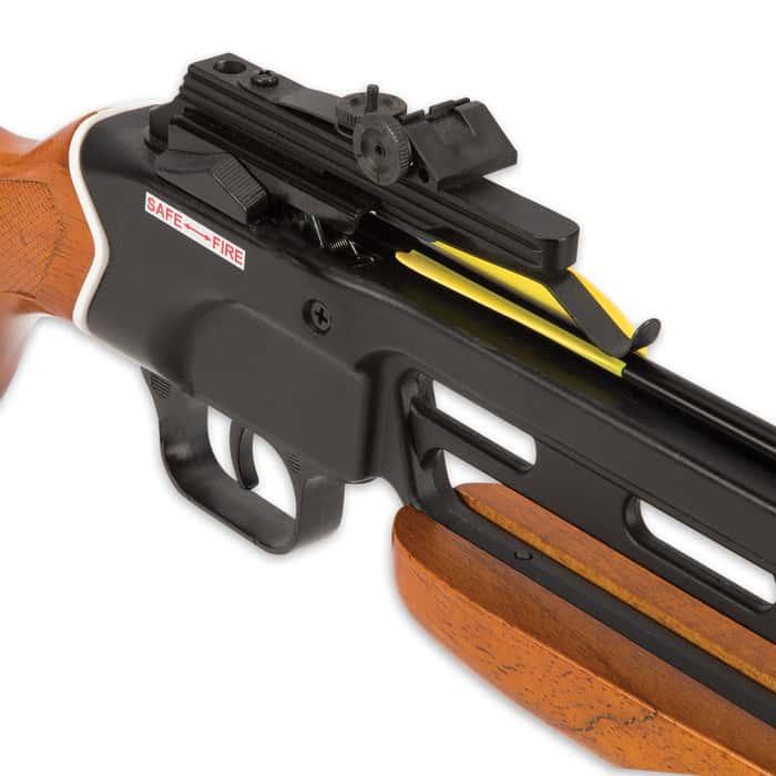 Avalanche Trail Blazer Crossbow Wooden Stock 150-lb