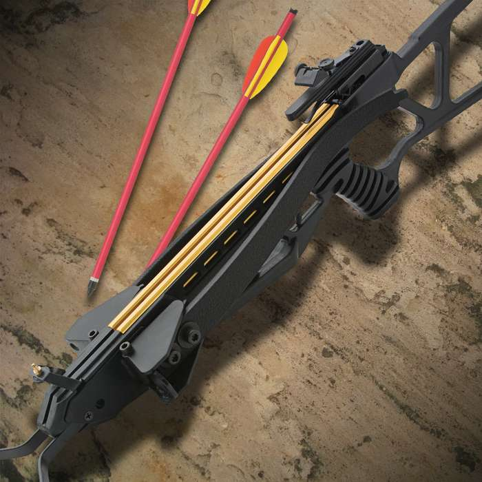 Avalanche Folding Take Down Survival Crossbow 150 lb