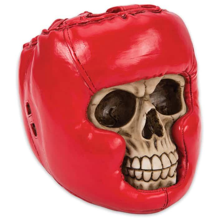 Bone Champ Boxer Skullpture