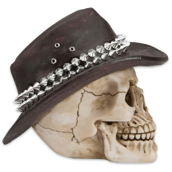 Rockadile Dundee Bones Skullpture