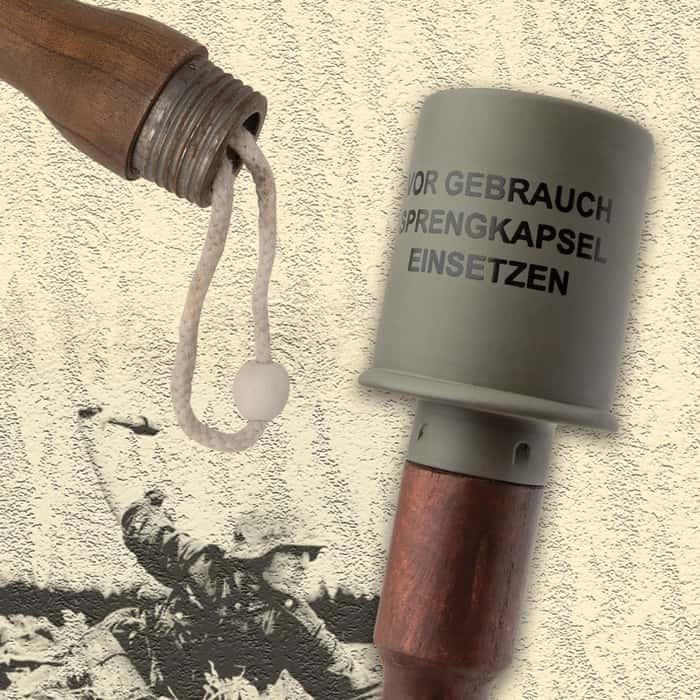 WWII-Era German Stick Grenade Replica