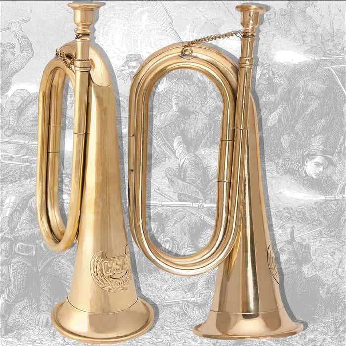 Civil War Confederate Bugle Replica