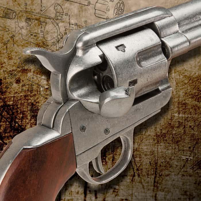 Replica .45 Army Revolver Six Shooter Pistol