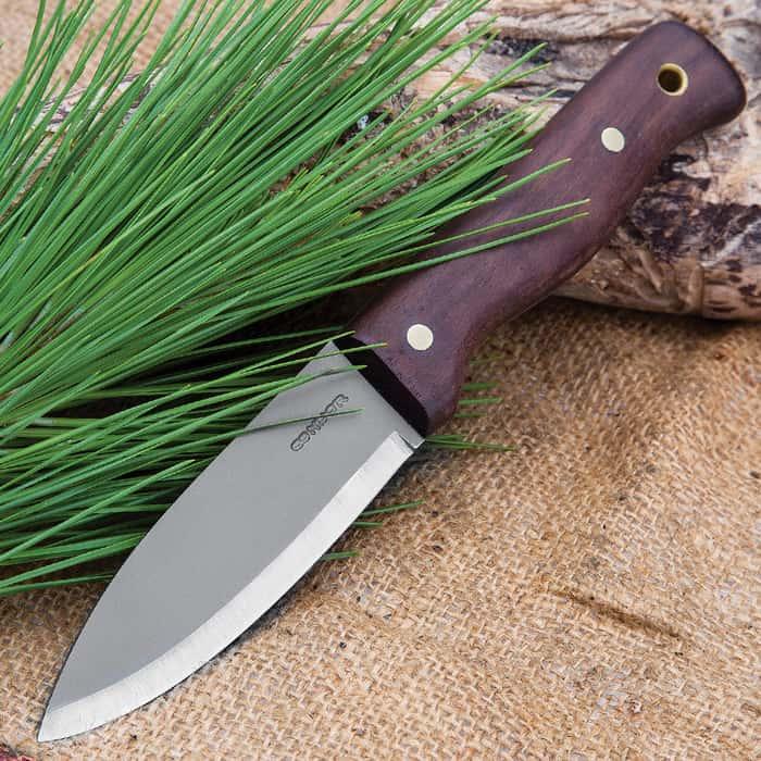 Condor Bushlore Knife Hardwood