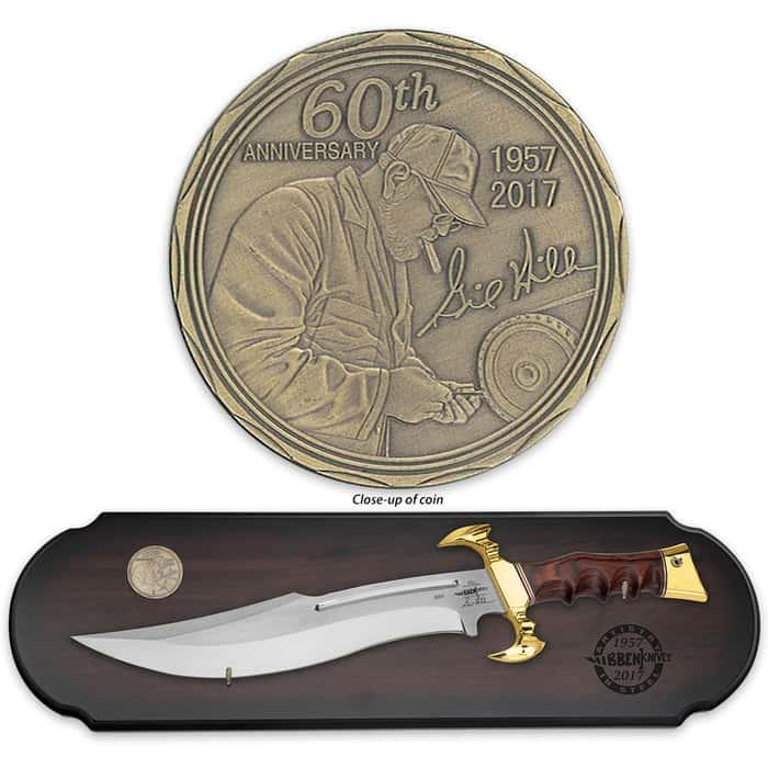 Gil Hibben 60th Anniversary Hibben Legend Bowie Knife