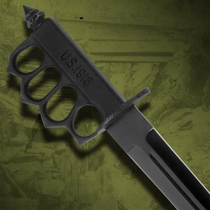 Tomahawk WWI Black Trench Knife