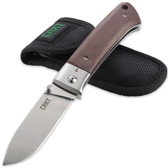 CRKT Torreya Folding Pocket Knife With Sheath