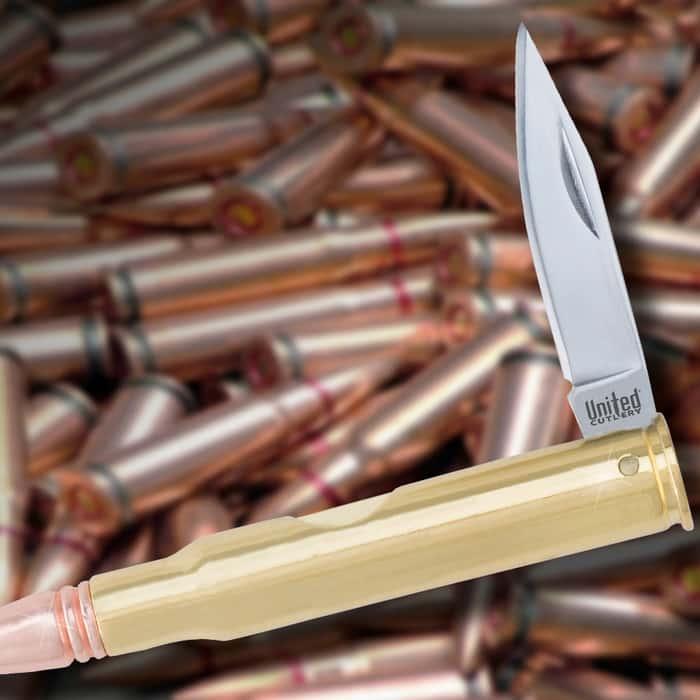 30-06 Bullet Pocket Knife