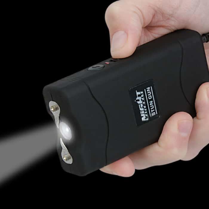 Night Watchman 2 1/2 Million-Volt Stun Gun - Black