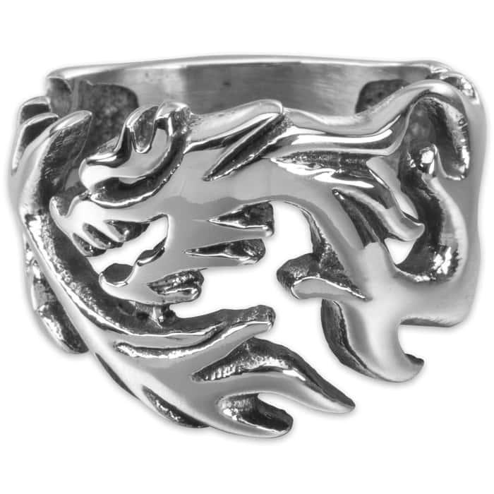 Tsunami - Men's Stainless Steel Ring