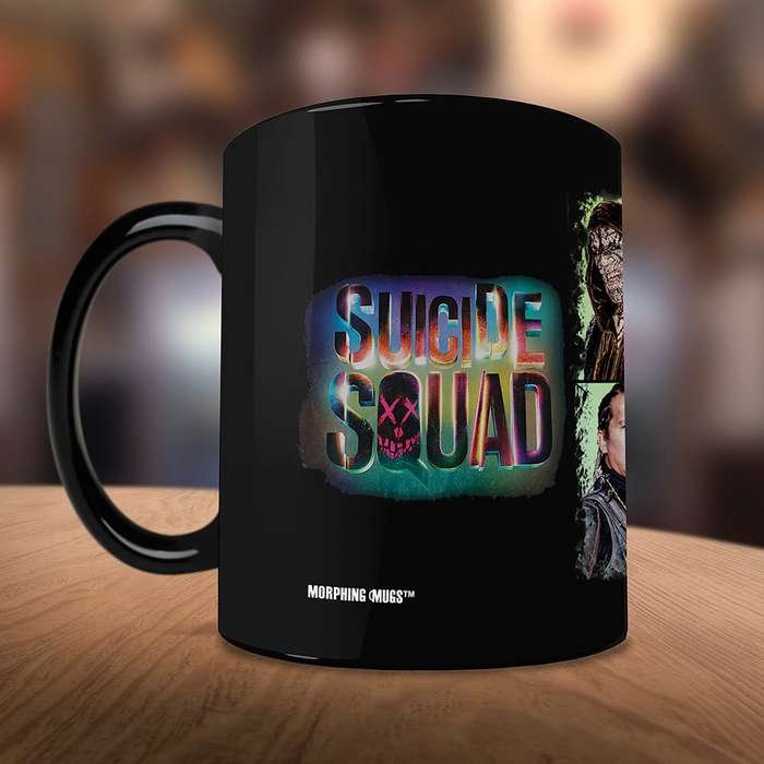 Suicide Squad Worst Heroes Ever Morphing Mug